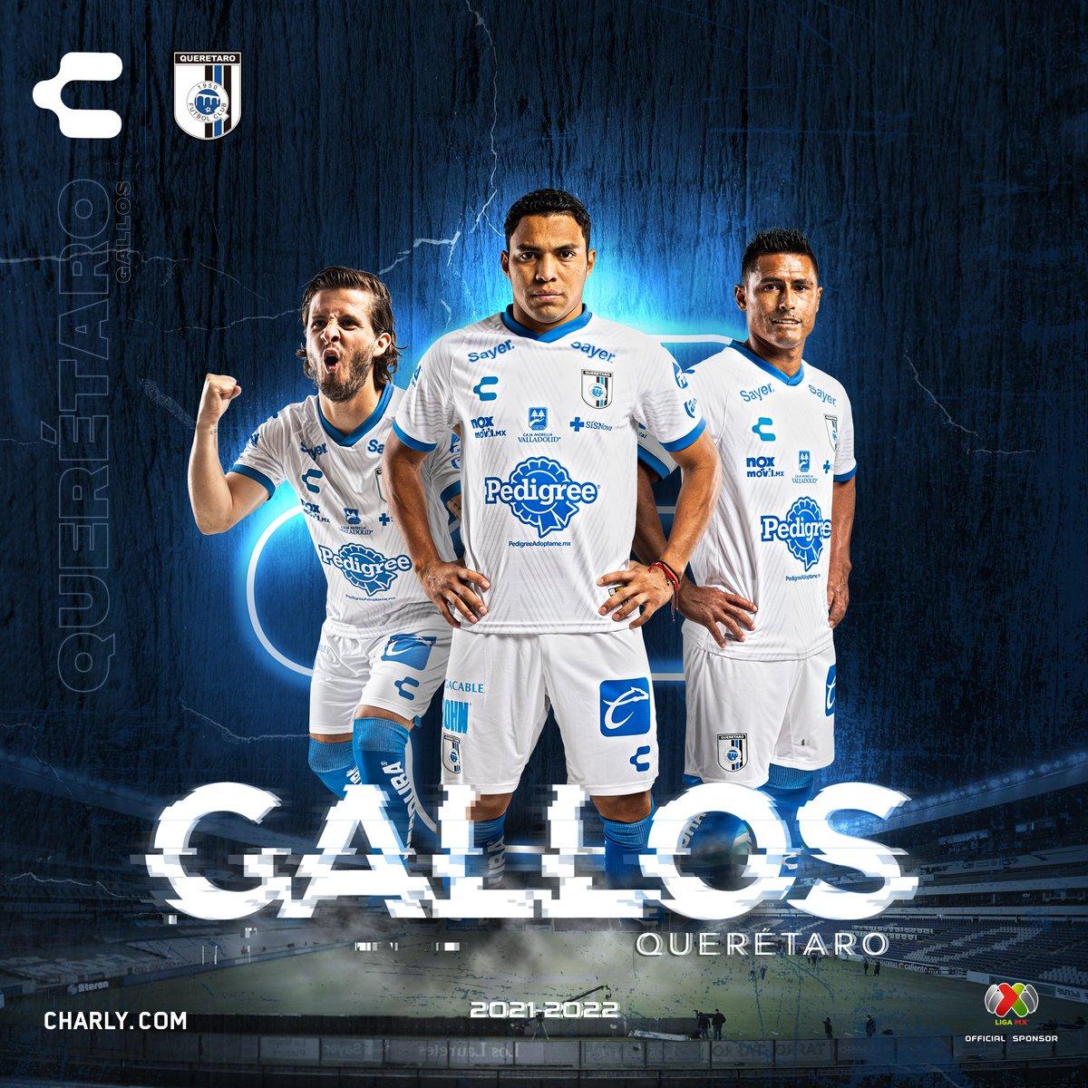 Jersey de visita de Querétaro para el Apertura 2021