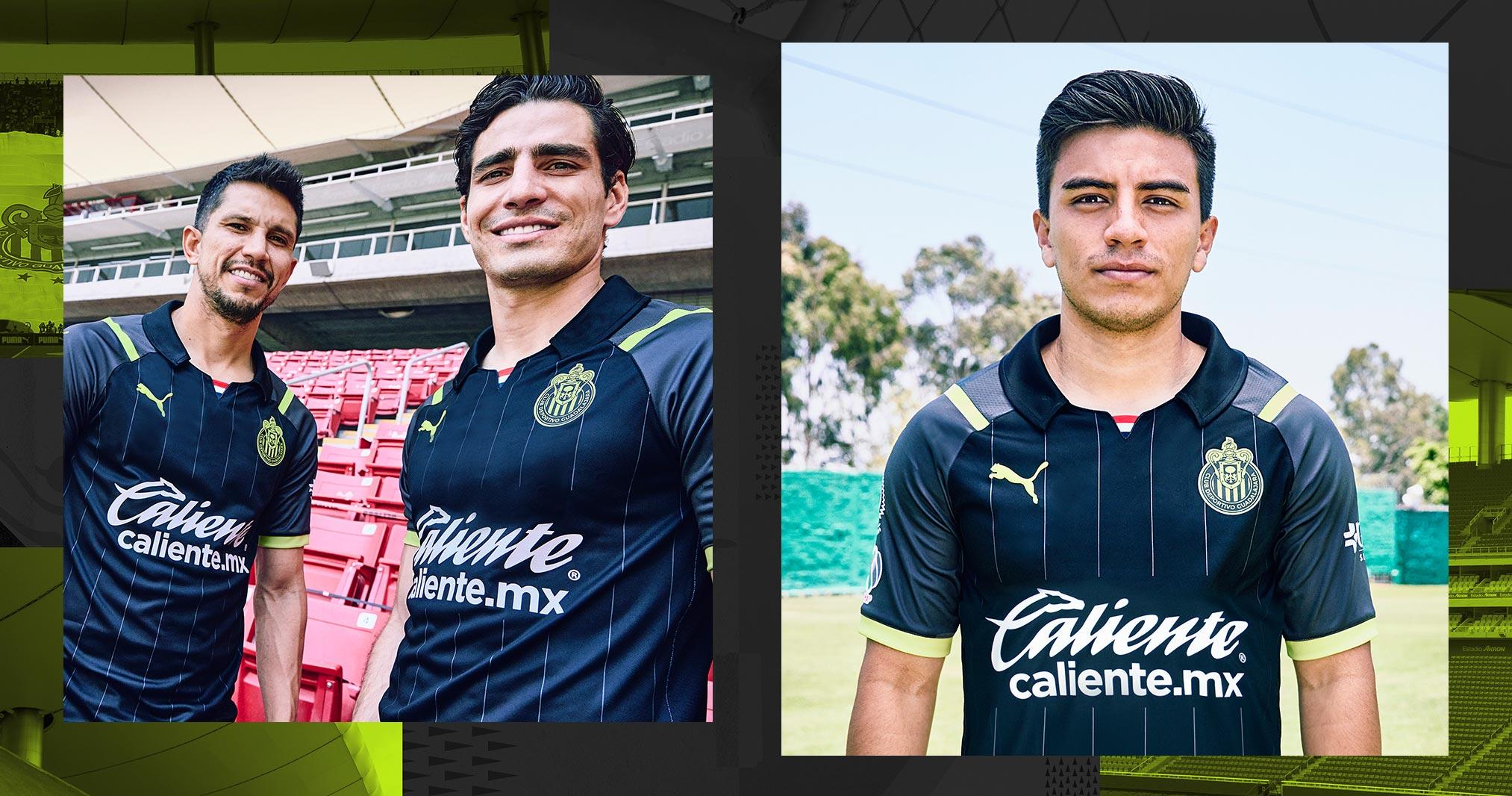 Jersey de visita de Chivas para el Apertura 2021