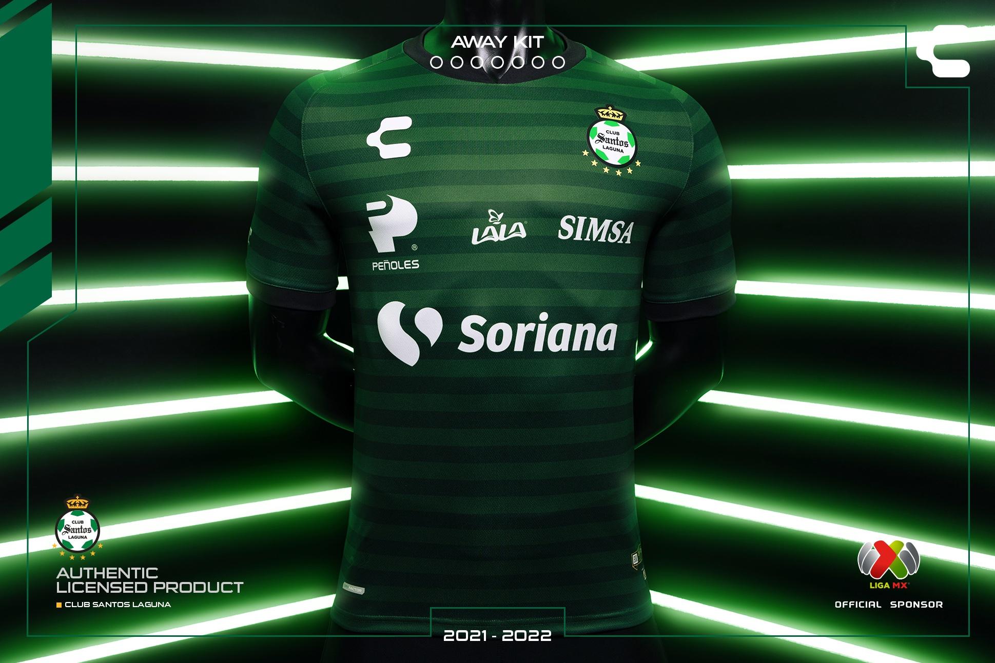 Jersey de visita de Santos para el Apertura 2021