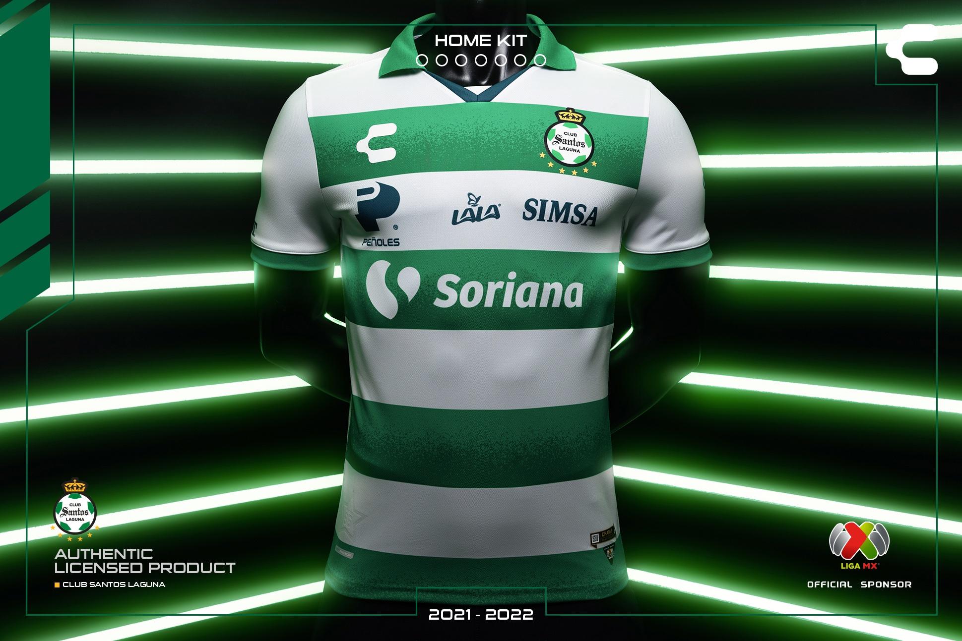 Jersey de local de Santos para el Apertura 2021