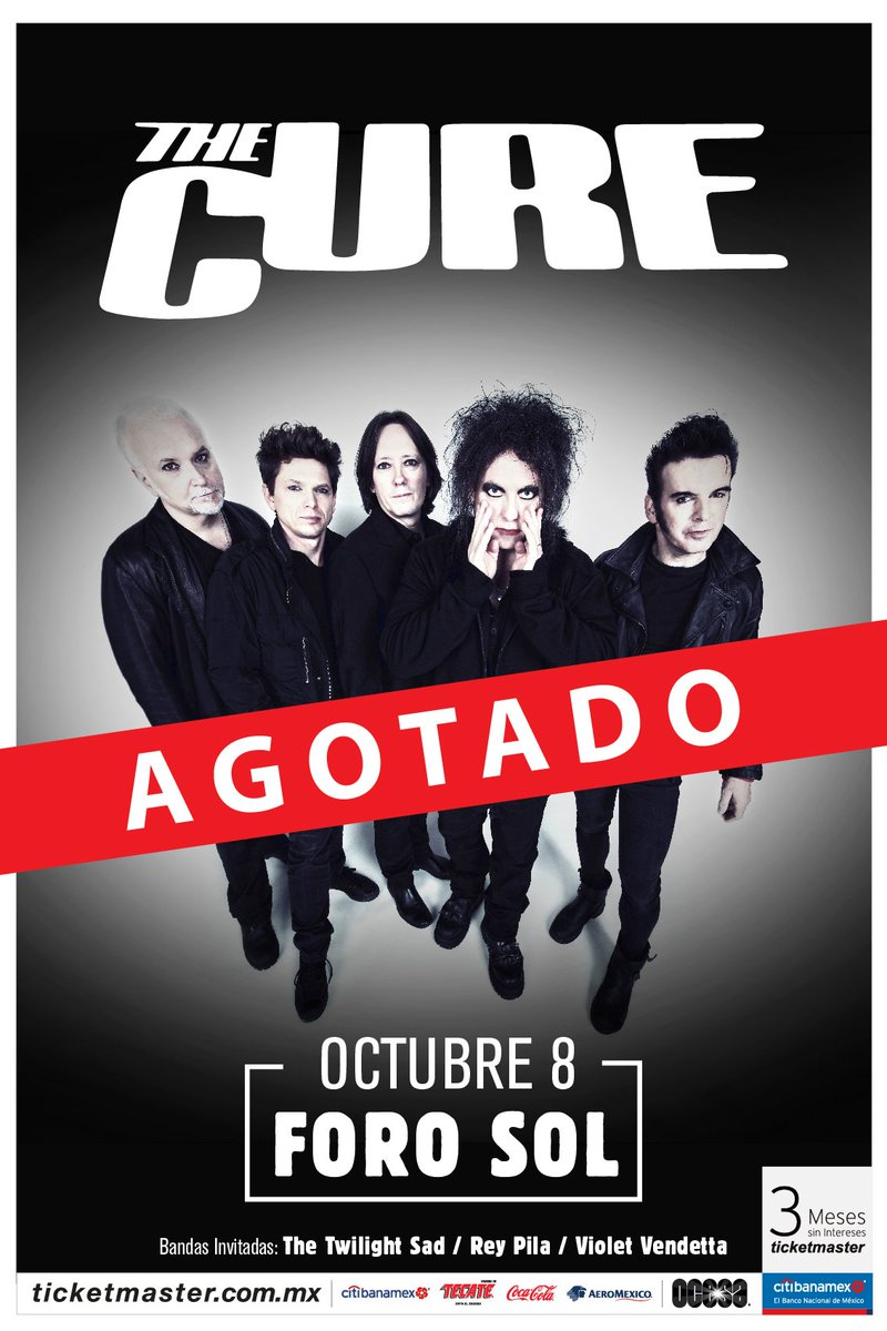 The Cure en México 2019