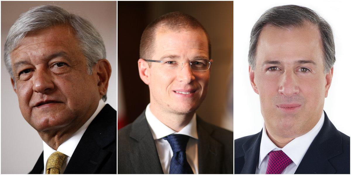 Candidatos a la presidencia de 2018