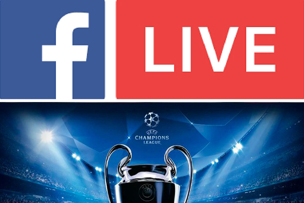 Champions League en vivo por Facebook