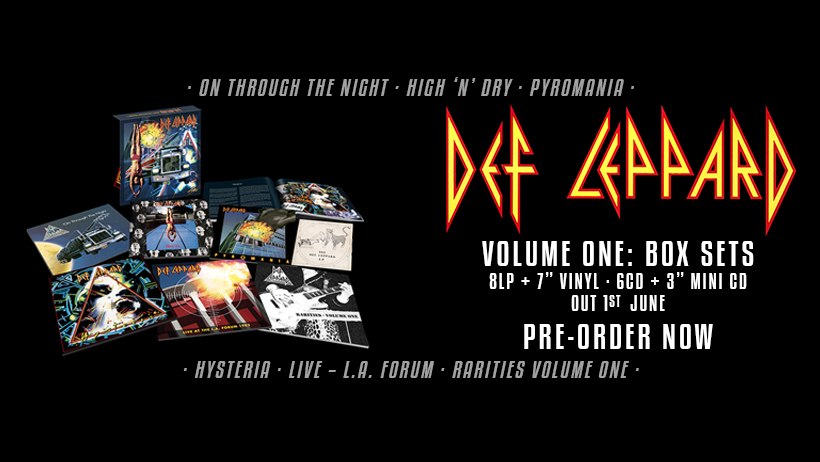 Def Leppard – Volume One