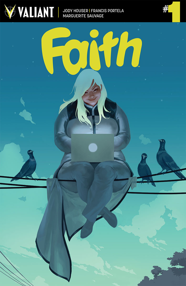 faith valiant comics portada