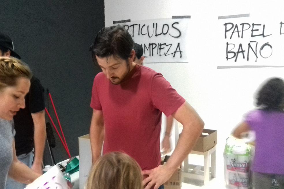 Diego Luna ayuda tras sismo CDMX