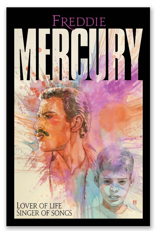 Llega el primer cómic de Freddie Mercury en noviembre