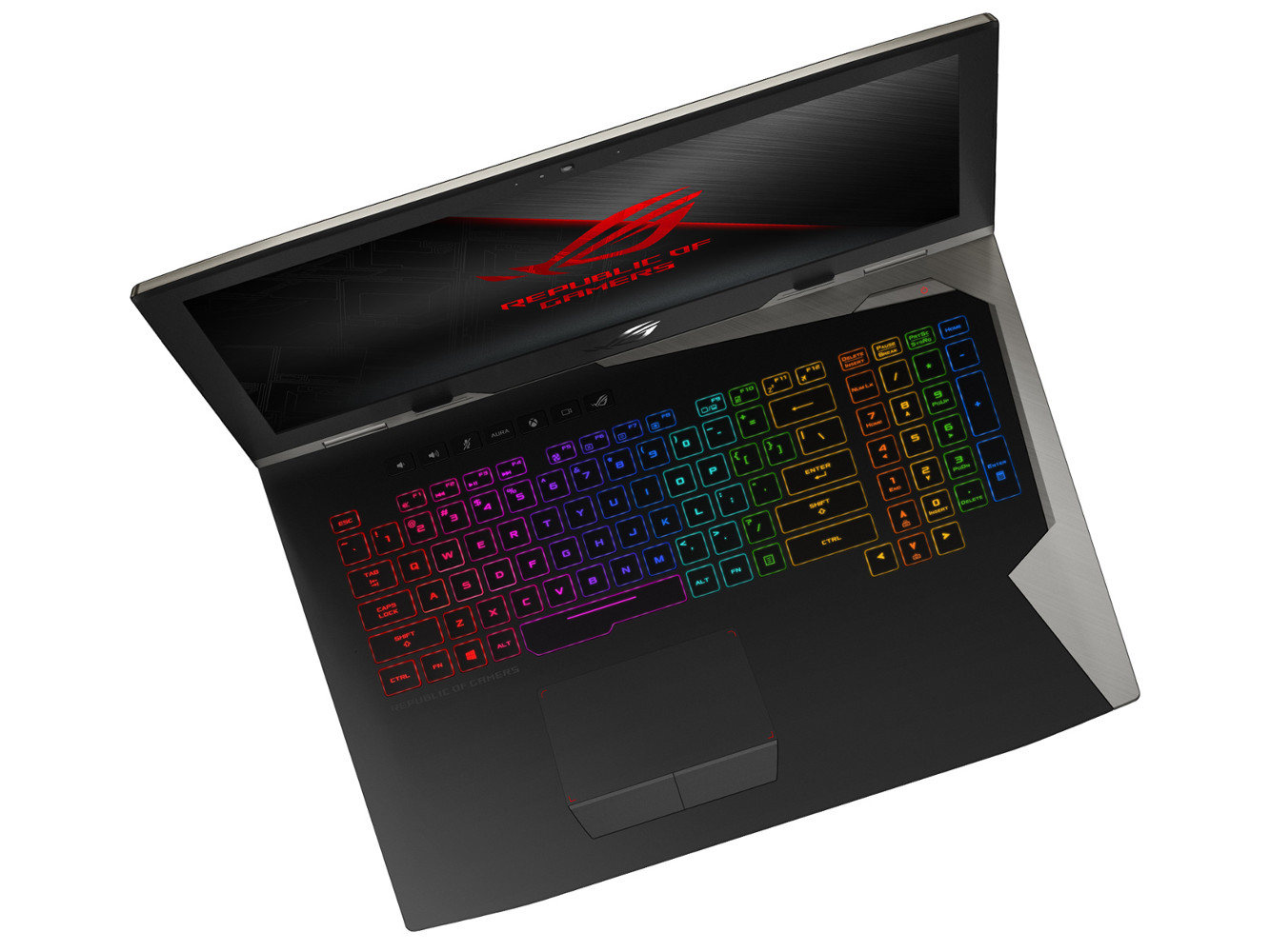ASUS Republic of Gamers ROG G703 con Aura Sync