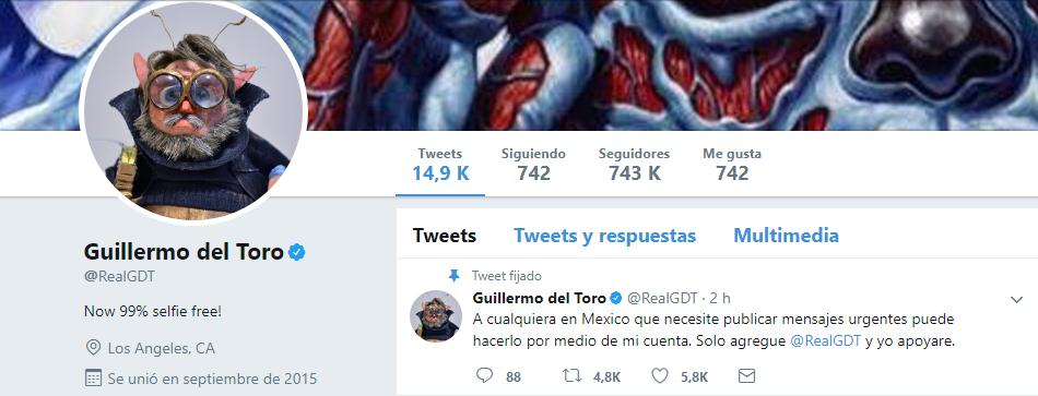 Del Toro ayuda tras sismo CDMX