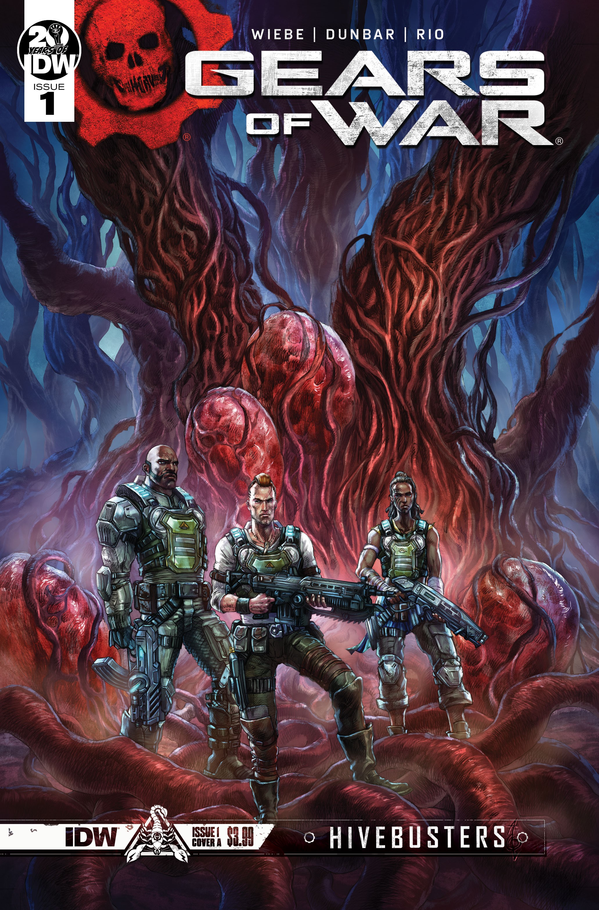Gears of War: Hivebusters #1 Pierre Droal cover