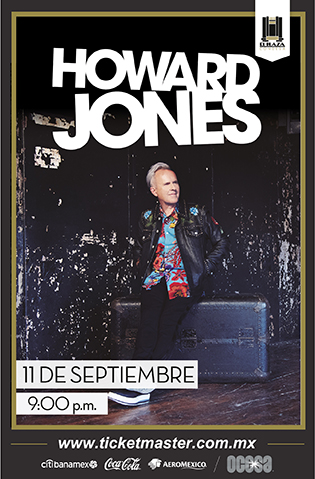 Howard Jones México 2019