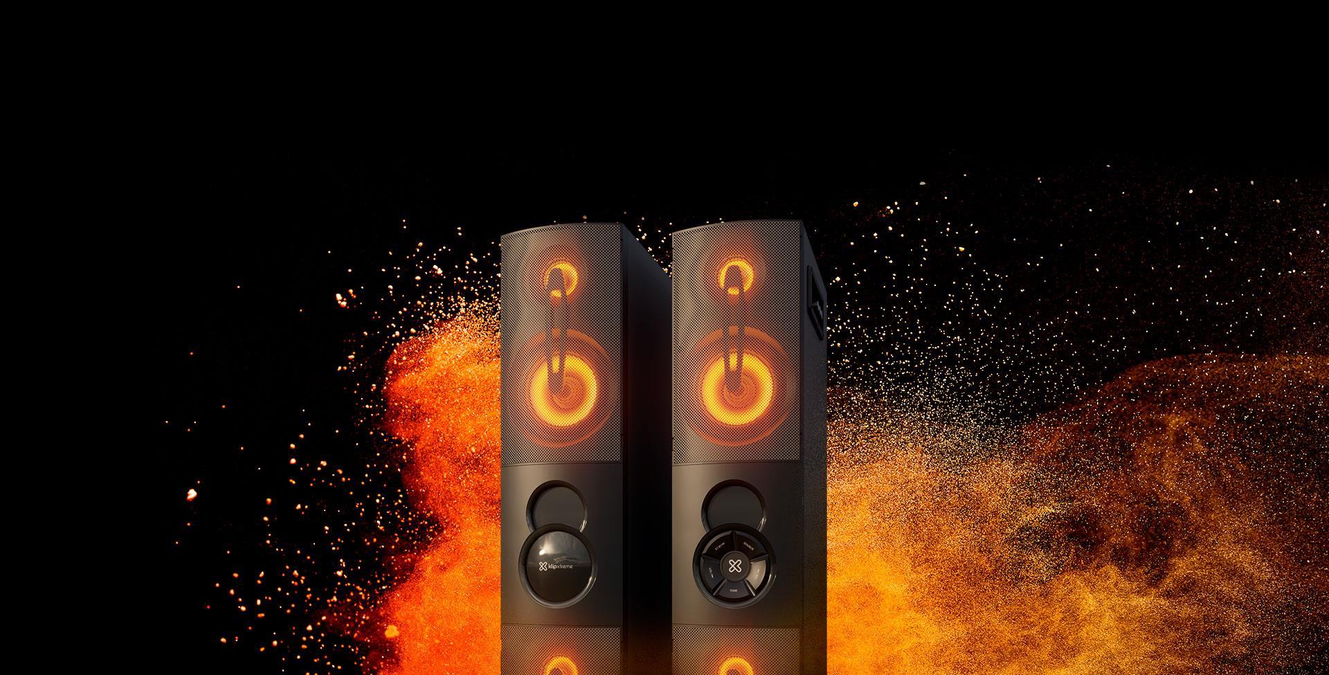 KlipXtreme presenta su sistema de audio DUET KFS-600
