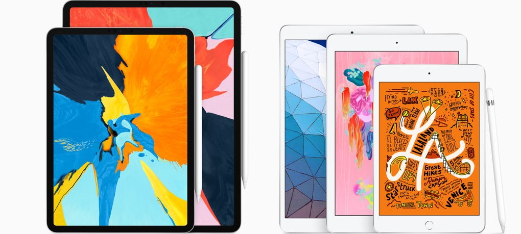 Línea de Apple iPad