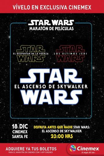 Maratón Trilogía de Star Wars