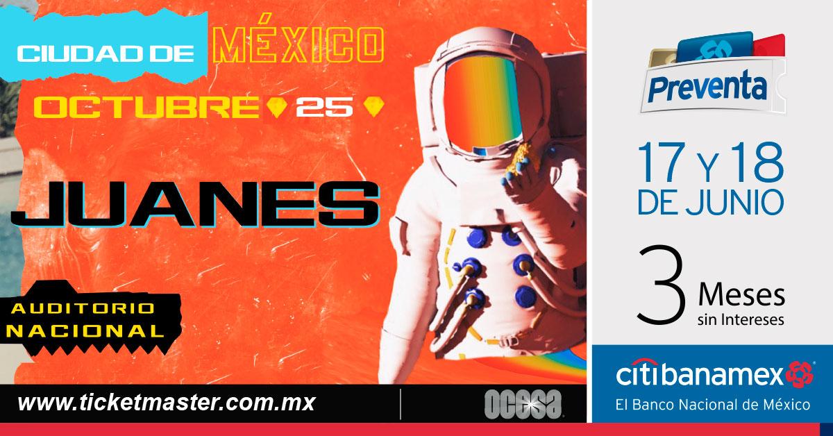 Juanes México 2019