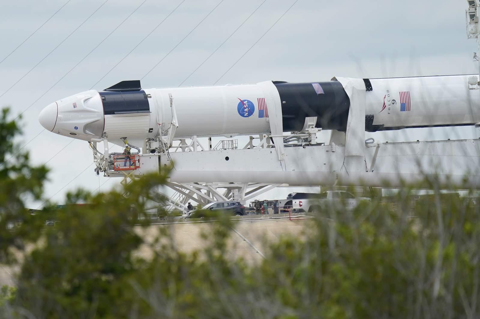 SpaceX enviará dos astronautas a la Estación Espacial Internacional