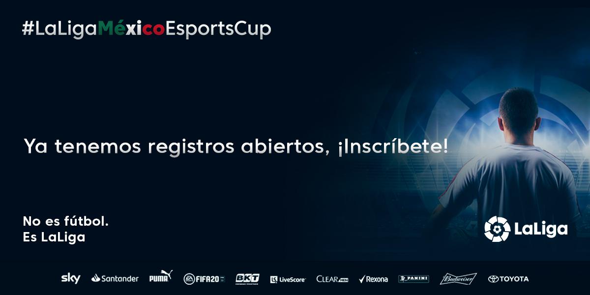 La Liga Española organiza un torneo de FIFA 20 en México