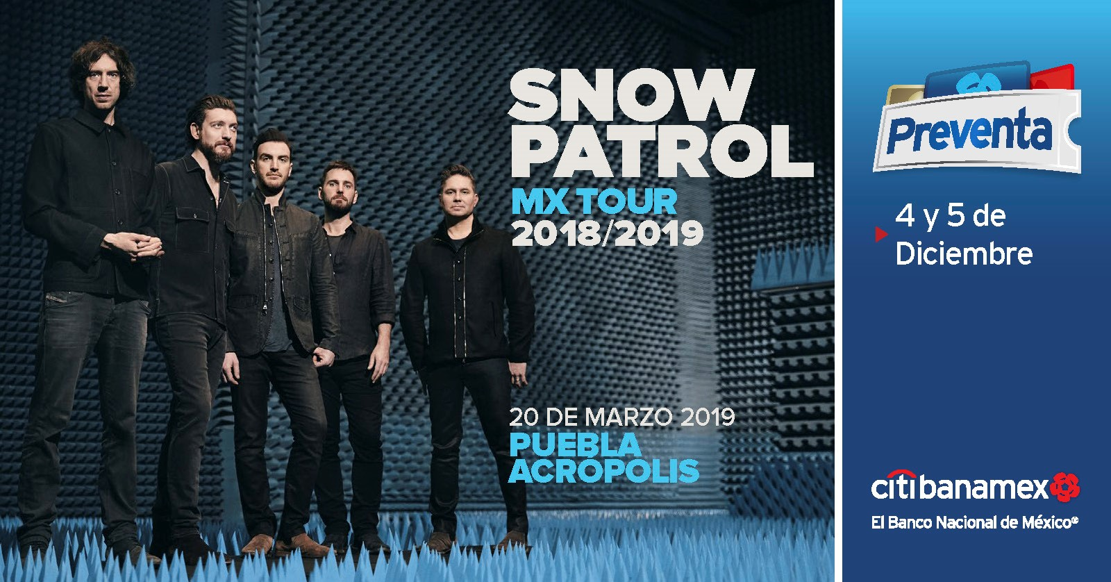 Snow Patrol México 2019