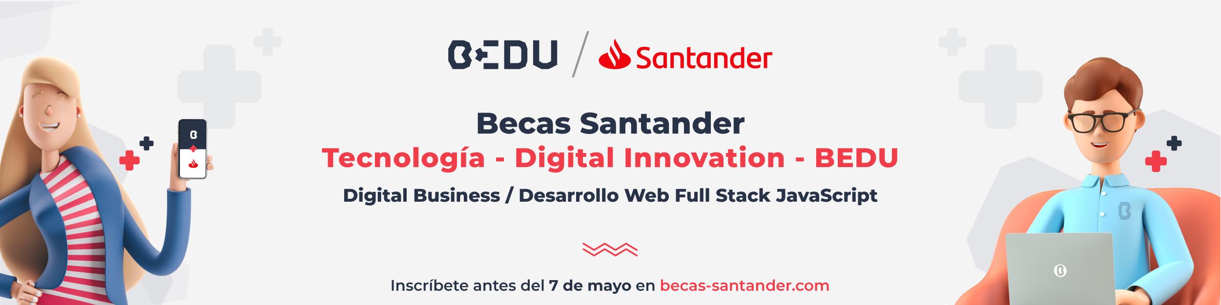 Becas Bedu Santander
