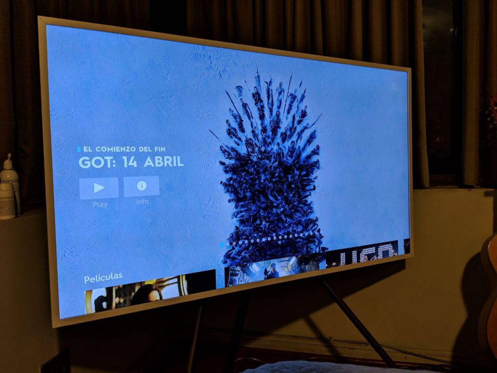 Game of Thrones en Samsung Smart TV