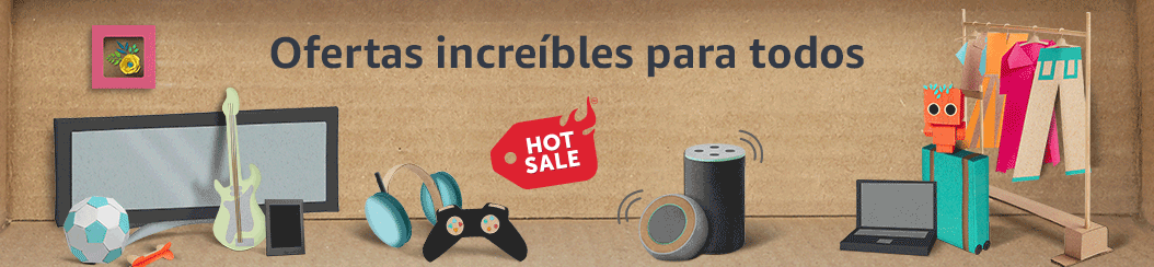 Ofertas en Amazon por el Hot Sale 2019