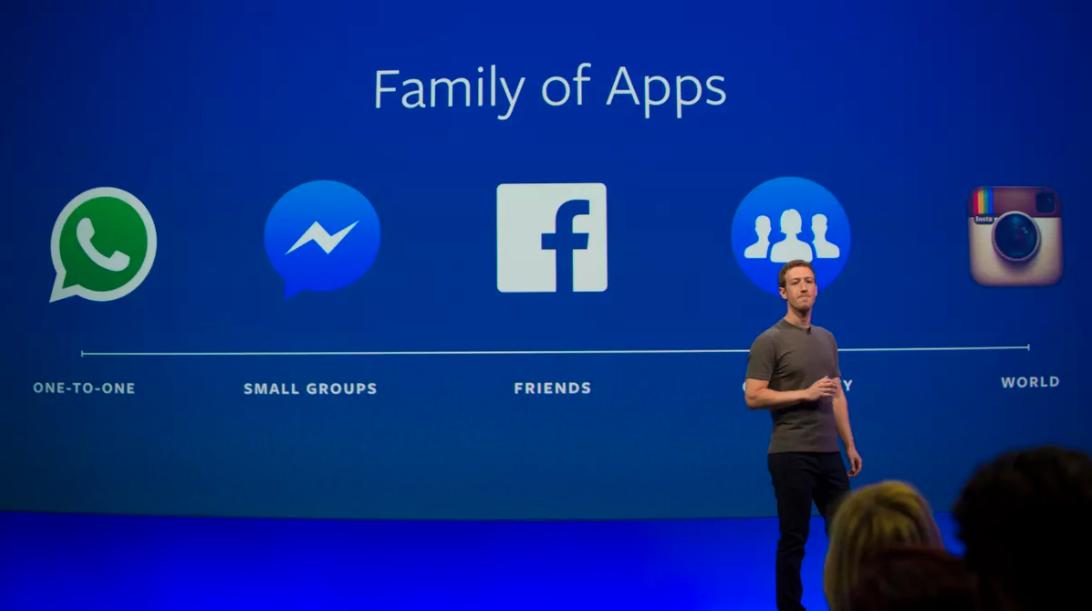(Facebook, Instagram y Whatsapp: 3 gigantes de la misma empresa)