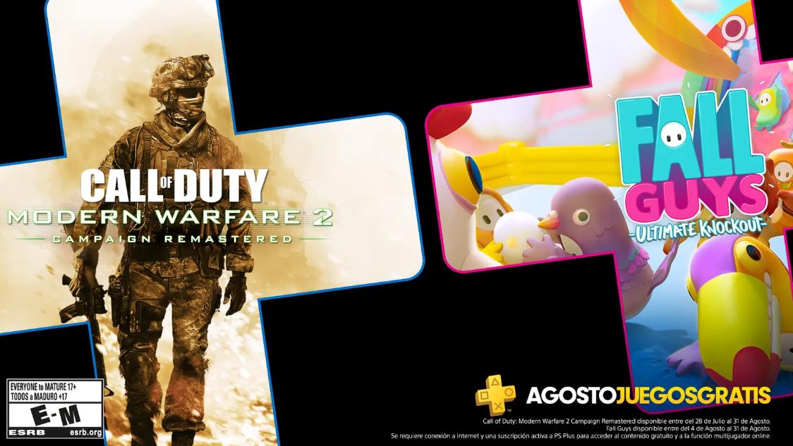 Juegos gratis de PS Plus en Agosto 2020