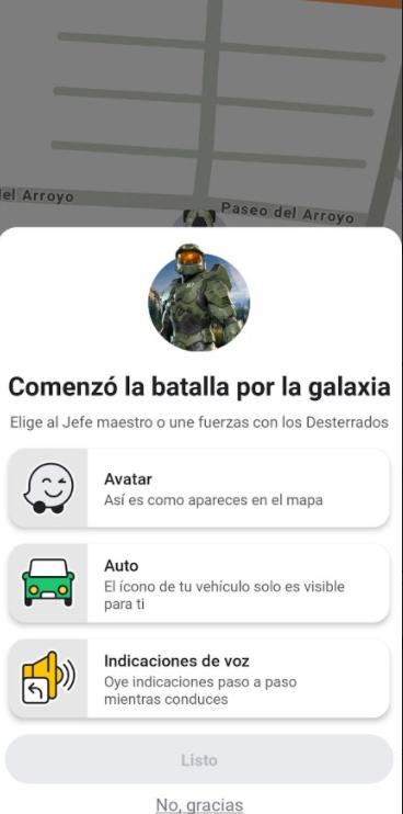 Halo y Waze se unen para ayudarte a superar el tráfico