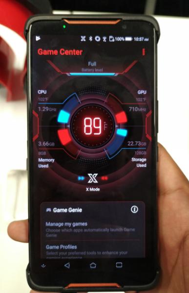 ASUS ROG Phone: smartphone gamer llega a México (Ficha técnica)