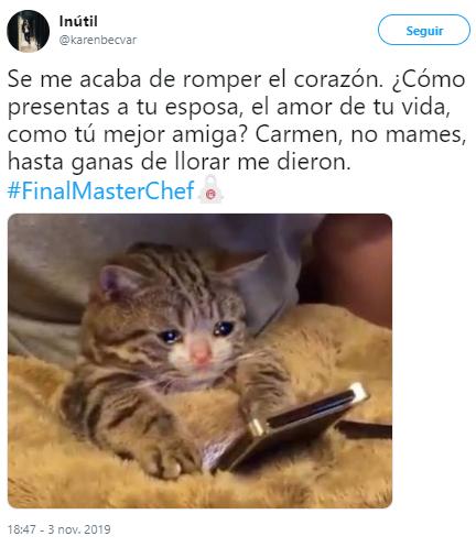 Memes de la Gran Final de MasterChef