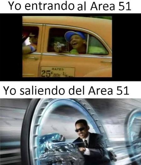 Memes de la invasión al Área 51
