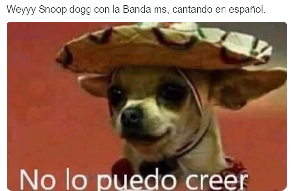 Snoop Dogg ft. Banda MS