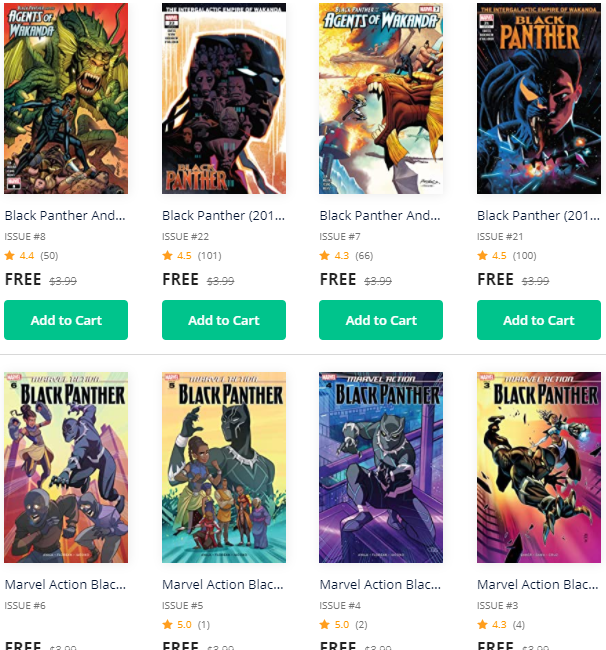 Black Panther ComiXology