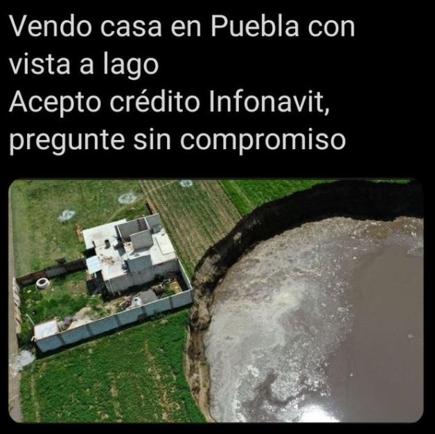 Memes del zocavón de Puebla