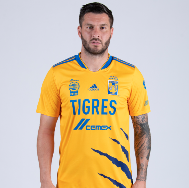 Jersey de local de Tigres para el Apertura 2021