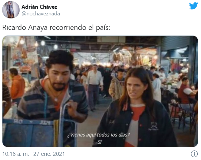 Memes de la gira de Ricardo Anaya