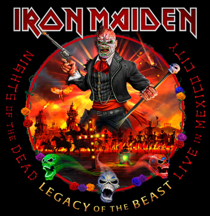 Iron Maiden - Nights of the Dead, Legacy of the Beast. Live in Mexico City