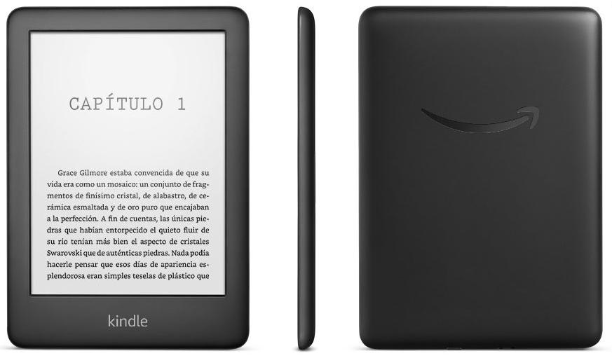 Nuevo Kindle económico y liviano
