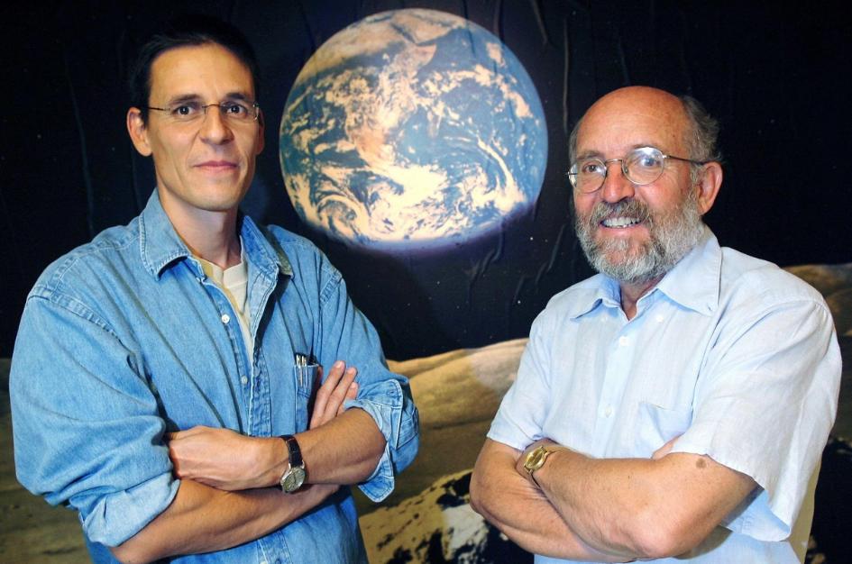 Didier Queloz (Izquierda) y Michel Mayor (Derecha)