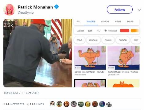 Memes de Kanye West y Donald Trump