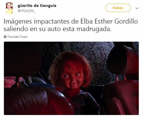 Elba Esther es liberada