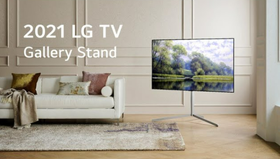 LG OLED evo TV Gallery stand