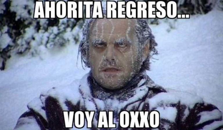Frío en el país