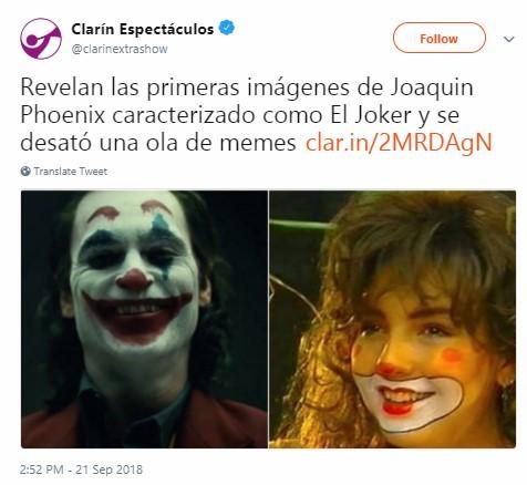 Joaquin Phoenix como el nuevo Joker