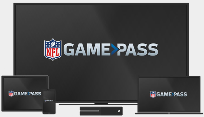 NFL Game Pass en dispositivos