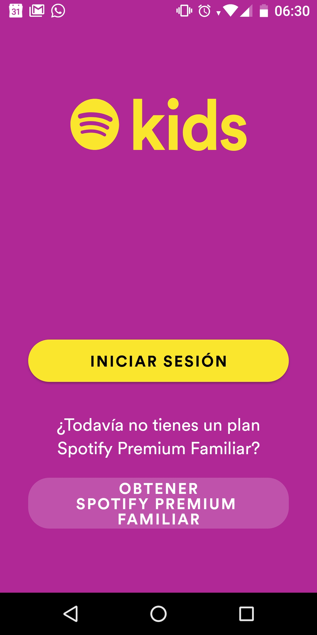 Spotify Kids México