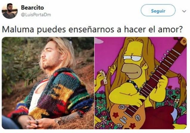 Meme de Maluma
