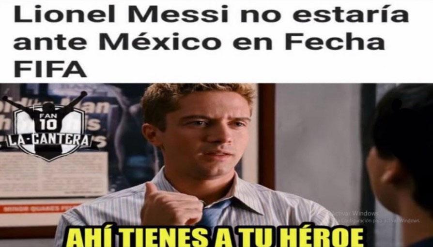 Argentina vs México