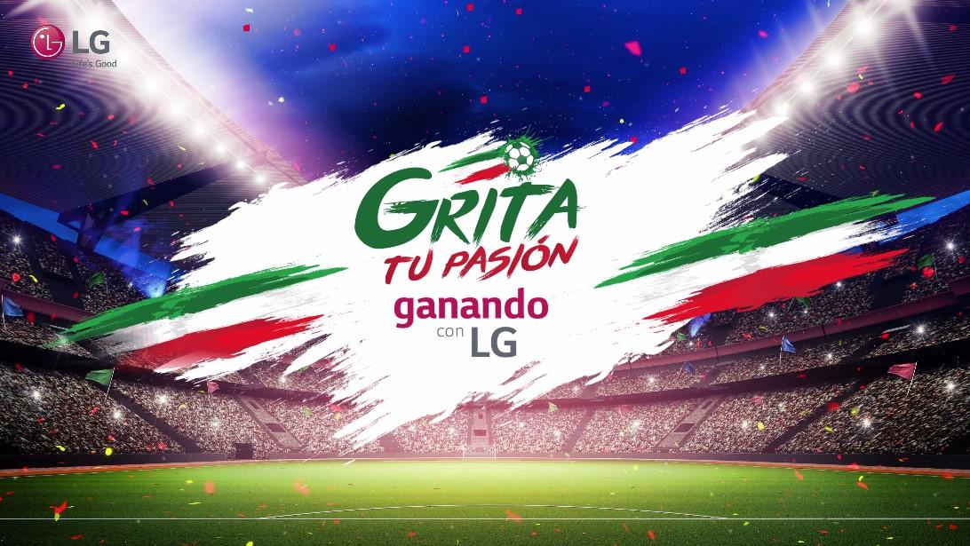 ¡Grita tu pasión con LG!
