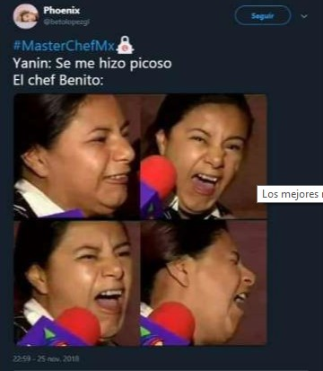 Memes de Master Chef